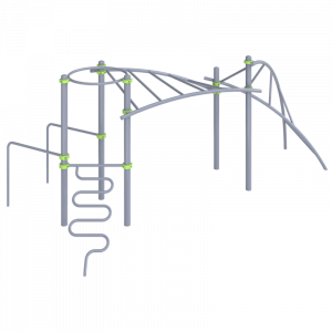 Комплекс с изогнутой лестницей
