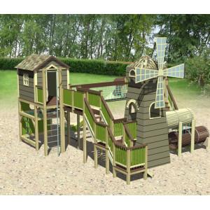 Детская игровая площадка «Мельница» (мод.30038)