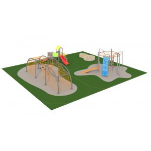 Детская спортивно-игровая площадка  «Горки»