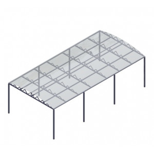 Навес разборный 3,5х10 м (поликарбонат)