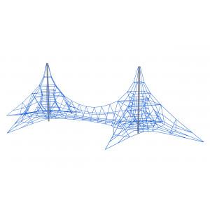 Канатный комплекс «Двойная пирамида»