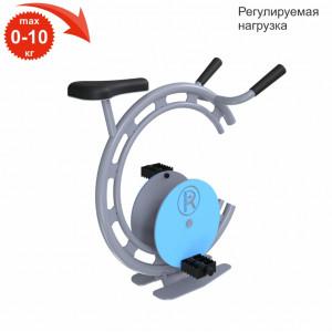 Велосипед с магнитным амортизатором