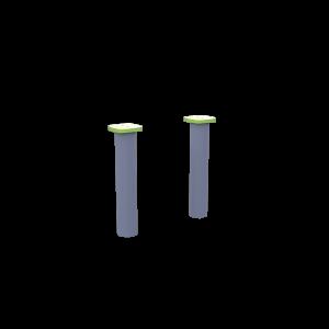Столбики низкие